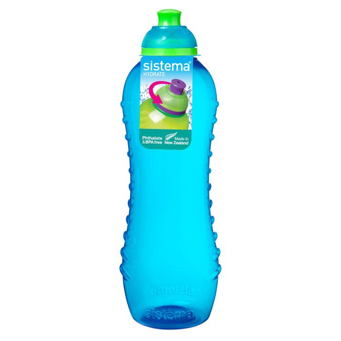 Бутылка для воды Sistema Hydrate, цвет: голубой, 620 мл sistema бутылка для воды hydrate 620 мл 6 7х22 5 см 795 sistema