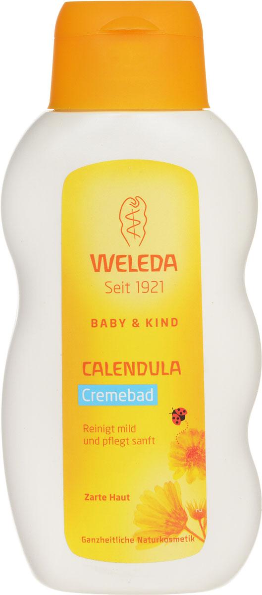 Weleda Молочко для купания Baby, с календулой, 200 мл книга для купания что любит 1900вв m6227