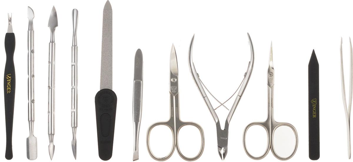 Zinger Маникюрный набор профессиональный (10 предметов) zMSFE 801-S цены