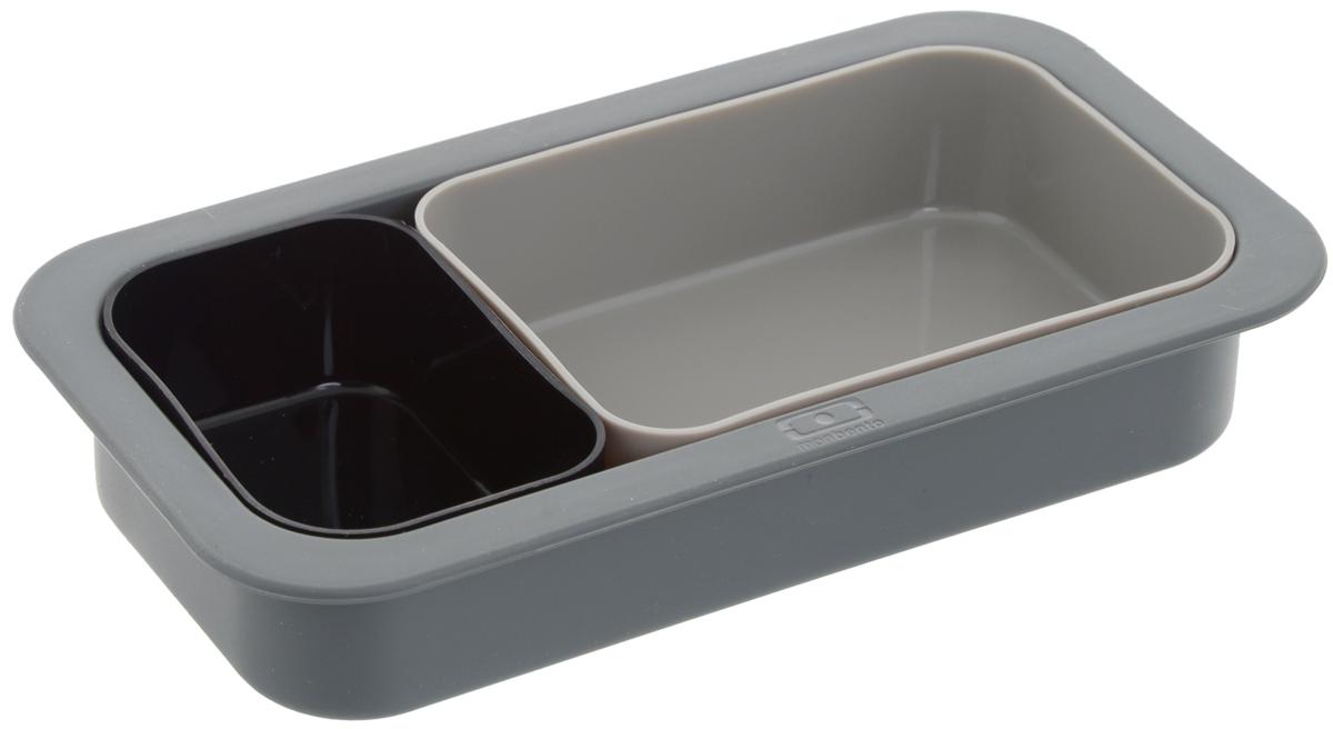 """Набор форм для выпечки Monbento """"Original"""", цвет: черный, серый, 3 шт"""