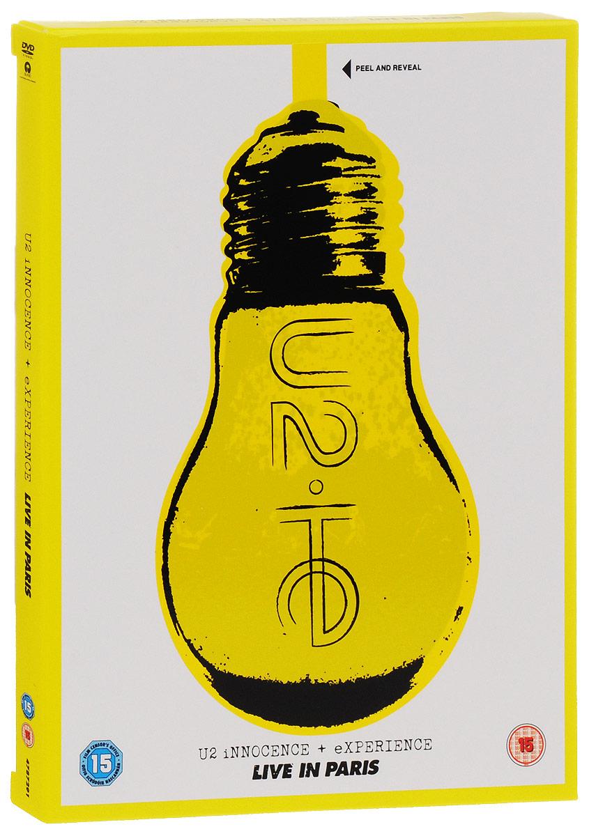 U2: Innocence + Experience: Live In Paris (2 DVD) u2 go home live from slane castle ireland