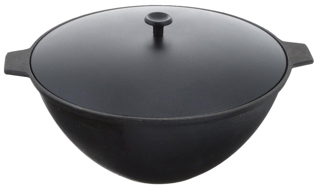 Котел чугунный Добрыня, с крышкой, 4 л. DO-3334
