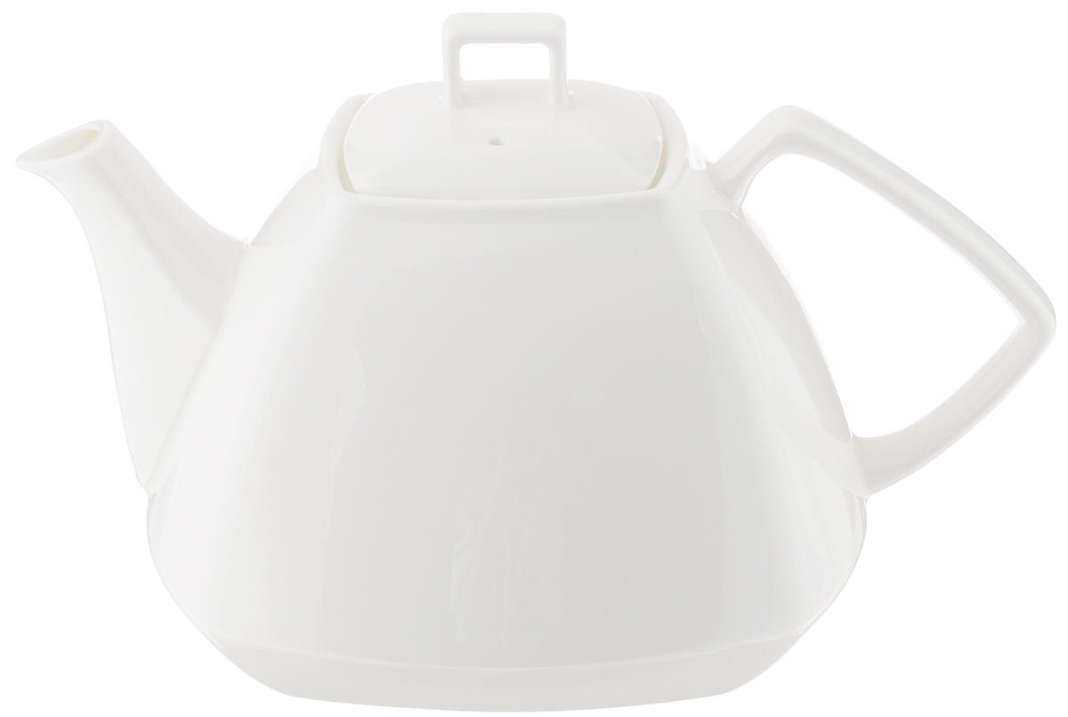Чайник заварочный Wilmax, 1,05 лWL-994041 / 1CЗаварочный чайник Wilmax изготовлен из высококачественного фарфора. Глазурованное покрытие обеспечивает легкую очистку. Изделие прекрасно подходит для заваривания вкусного и ароматного чая, а также травяных настоев. Ситечко в основании носика препятствует попаданию чаинок в чашку. Оригинальный дизайн сделает чайник настоящим украшением стола. Он удобен в использовании и понравится каждому. Можно мыть в посудомоечной машине и использовать в микроволновой печи. размер чайника (по верхнему краю): 7 х 7 см. Высота чайника (без учета крышки): 9,5 см. Размер основания: 8,5 х 8,5 см. Рекомендуем!