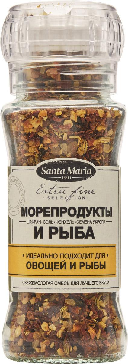 Santa Maria Смесь Морепродукты и рыба, 90 г