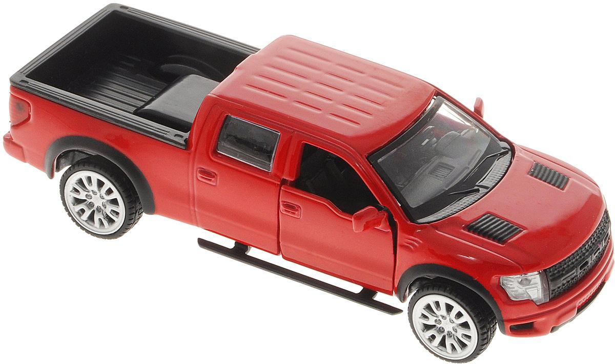 ТехноПарк Модель автомобиля Ford F-150 SVT Raptor цвет красный игрушка f