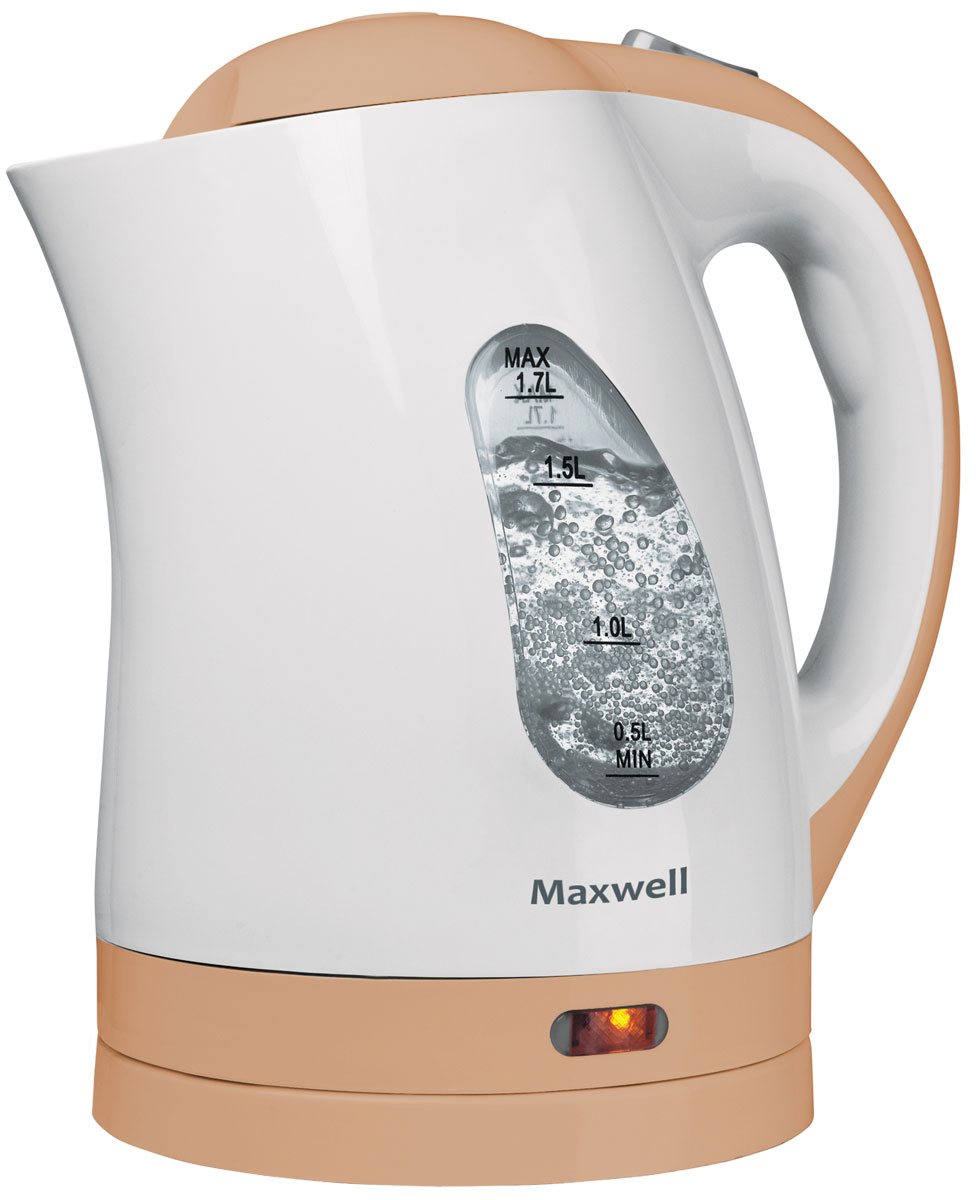 купить Электрический чайник Maxwell MW-1014(BN) по цене 963 рублей