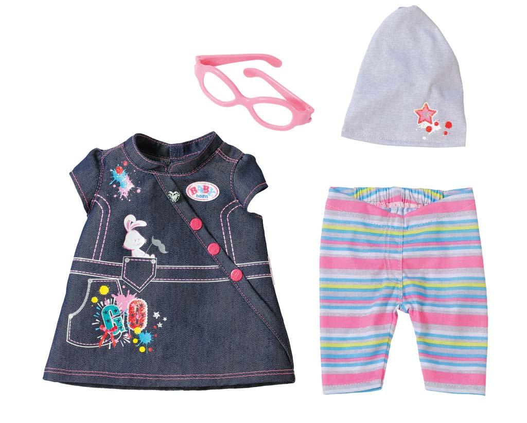 Baby Born Комплект джинсовой одежды для куклы