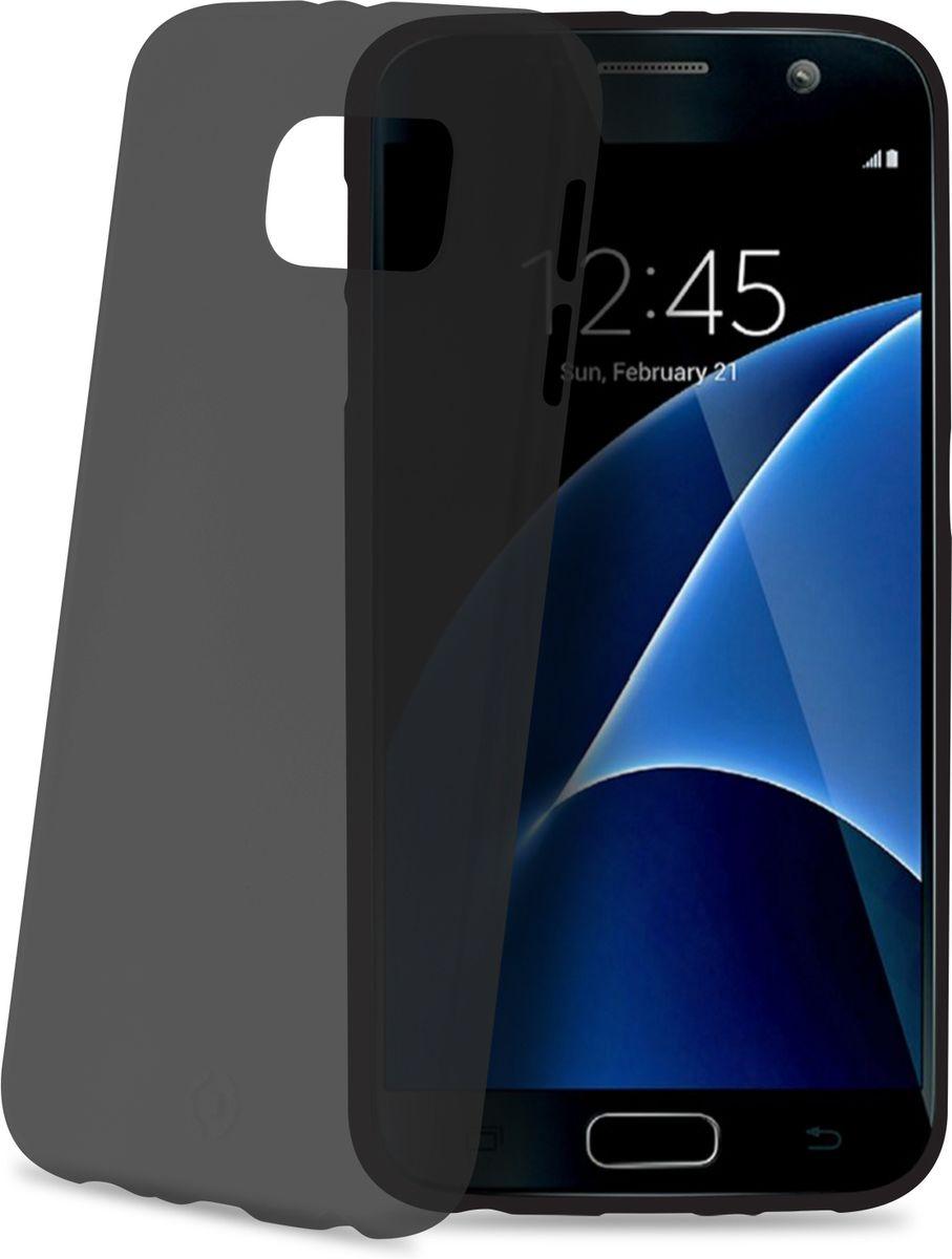 Celly Frost чехол для Samsung Galaxy S7, Grey celly frost чехол для samsung galaxy a5 grey