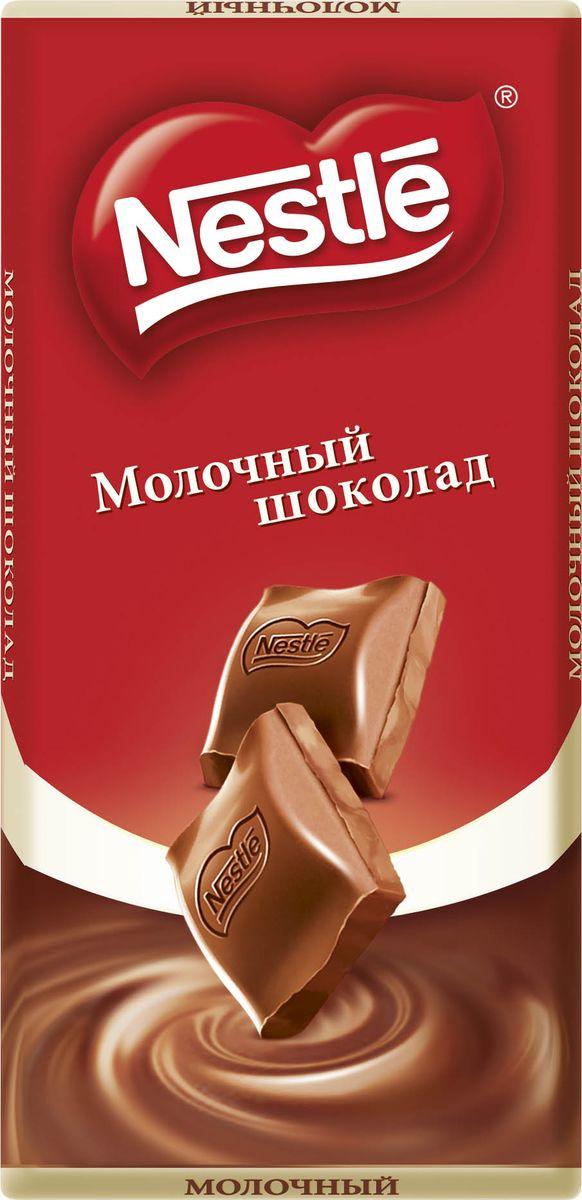 Nestle молочный шоколад, 90 г nestle 900