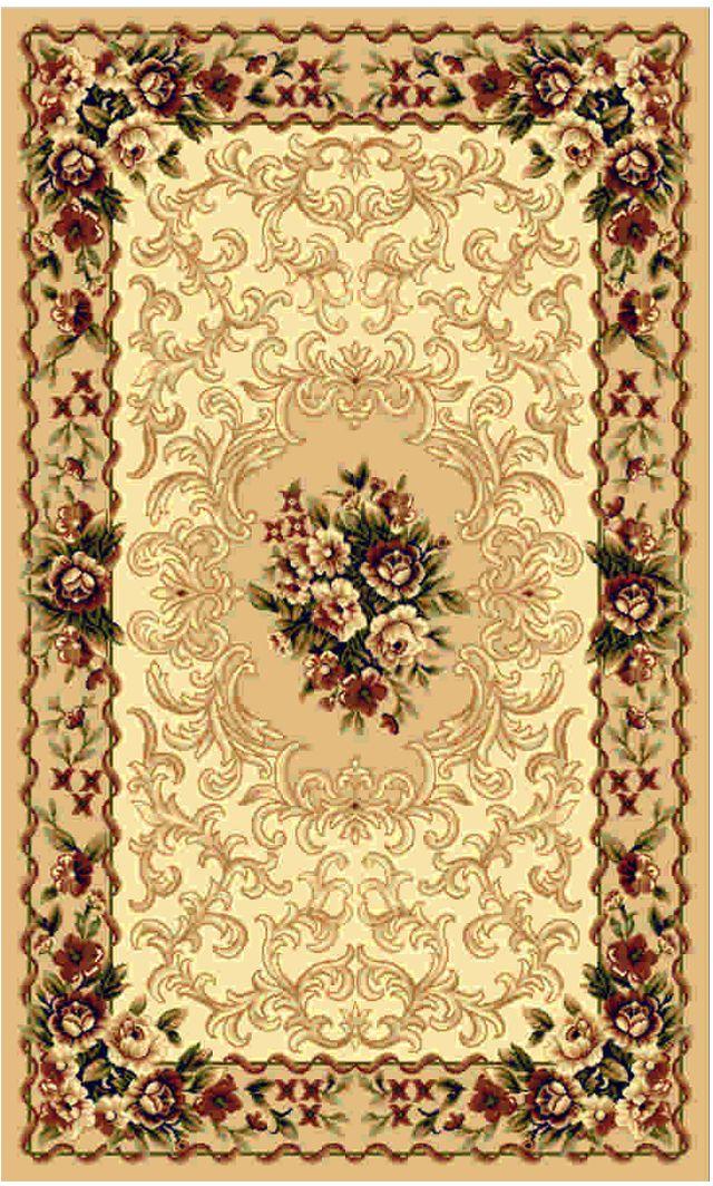 Ковер Kamalak tekstil, прямоугольный, 100 x 150 см. УК-0001 ковер kamalak tekstil прямоугольный цвет кремовый 100 x 150 см ук 0400