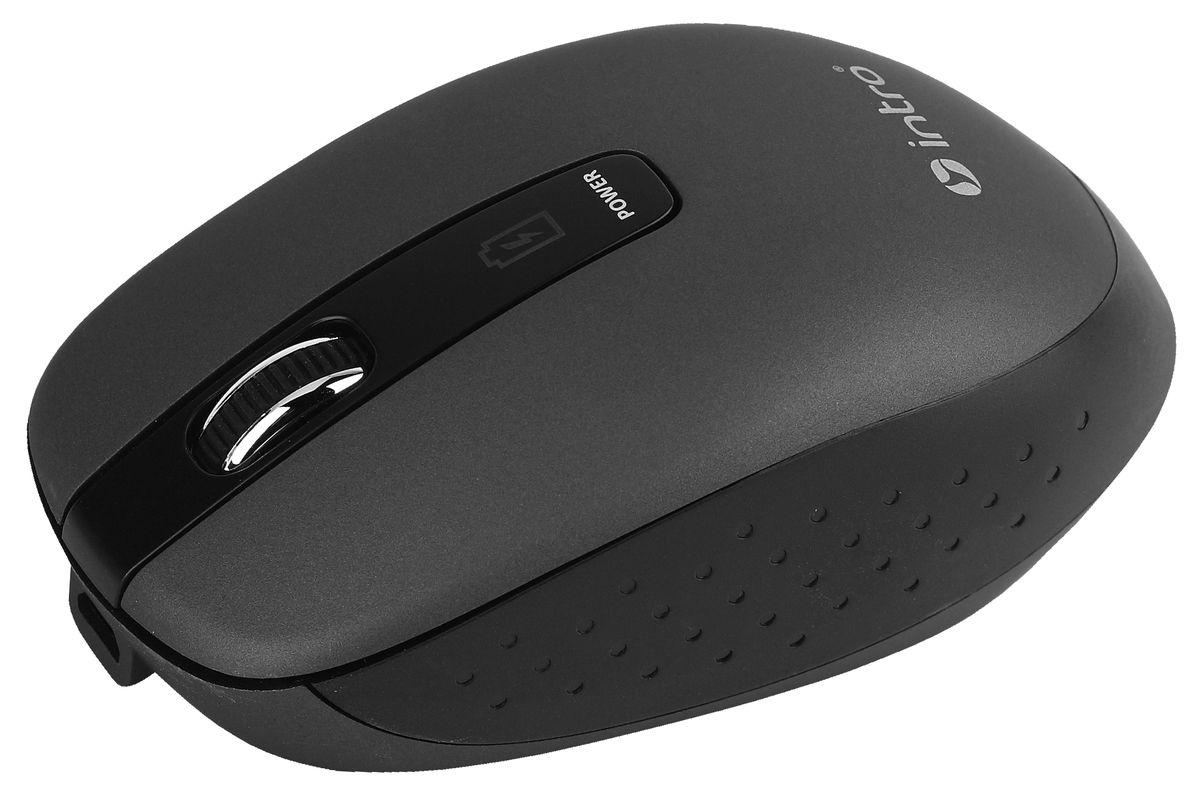 лучшая цена Мышь Intro Wireless black MW540, черный