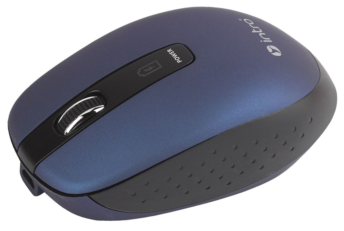 Intro MW540 Wireless, Blue беспроводная мышь