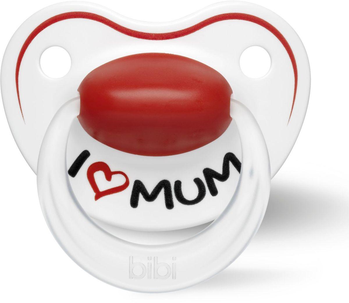 Bibi Пустышка силиконовая ортодонтическая Premium Dental Mum от 6 до 16 месяцев