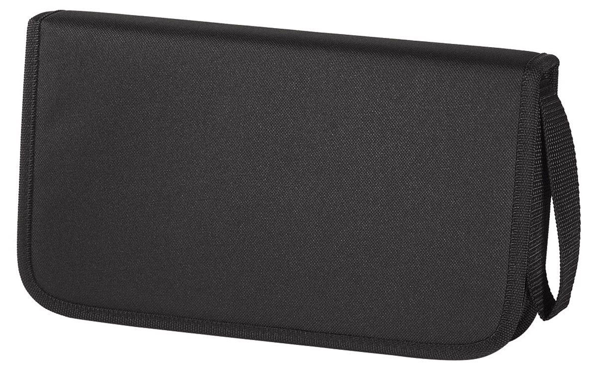 Сумка для CD Hama H-11616 Nylon, Black (64 шт) hama h 103448 black