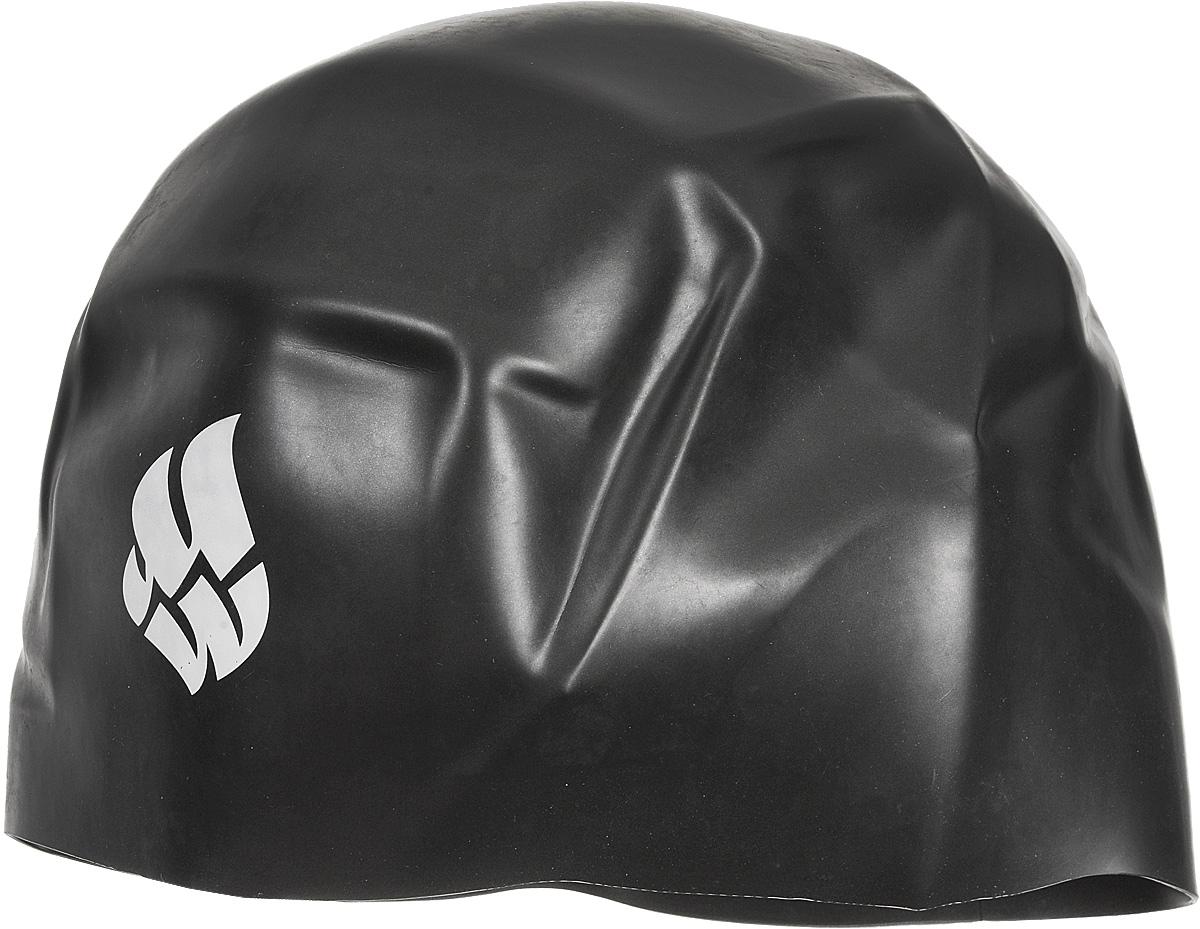 Шапочка для плавания Mad Wave R-Cap Fina Approved L, цвет: черный шапочка для плавания mad wave reverse champion цвет розовый фиолетовый