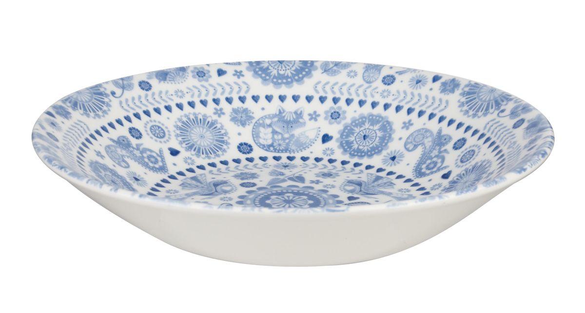 Тарелка суповая Churchill Пензанс, диаметр 20 см. PENZ00241 churchill тарелка суповая 20 см bfbl00091 churchill