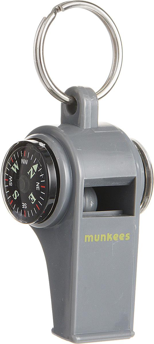 Свисток Munkees с компасом и термометром