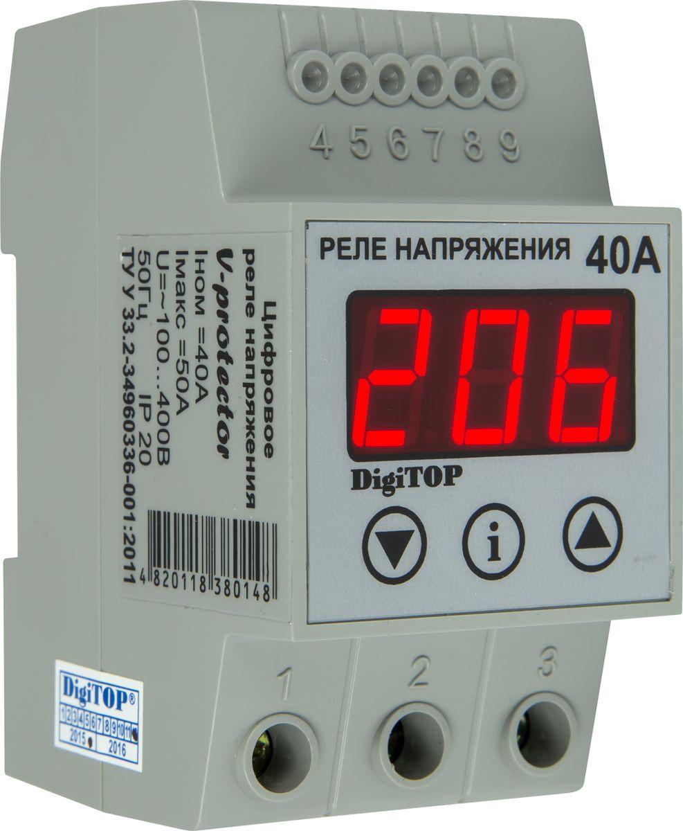 Реле напряжения DigiTOP Vp-40A цена