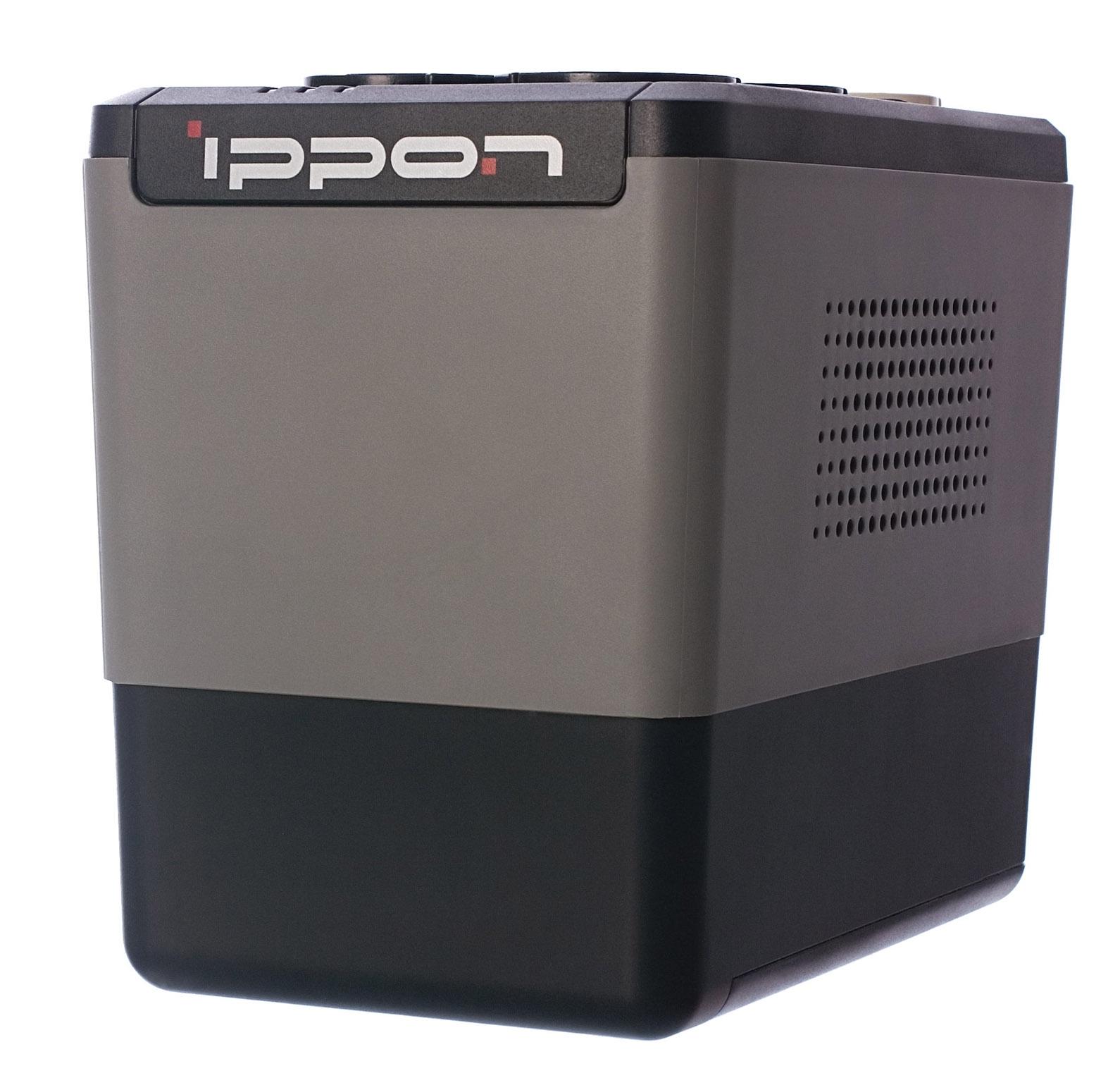 Источник бесперебойного питания Ippon Back Verso 400, Black источник бесперебойного питания ippon back office 1000