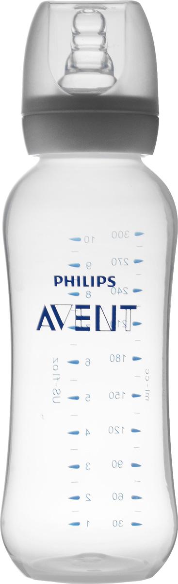 Бутылочка для кормления Philips Avent Essential, от 6 месяцев, 300 мл. SCF972/17 бутылочка естественное кормление для младенцев 125 мл avent philips avent стандарт