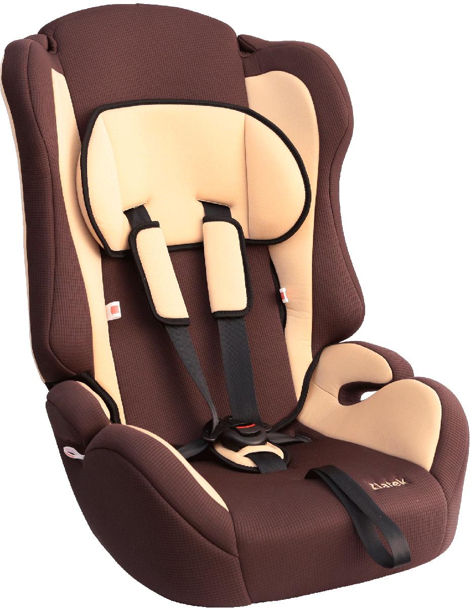 Zlatek Автокресло Atlantic цвет коричневый автокресло zlatek atlantic от 9 до 36 кг крес0166 красный