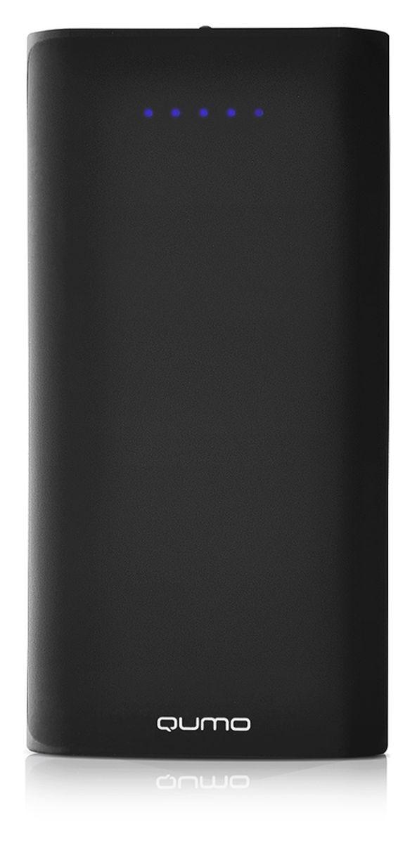 QUMO PowerAid 17600, Black внешний аккумулятор цена и фото