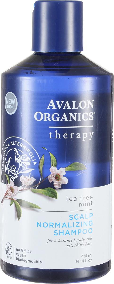 Avalon Organics Нормализующий шампунь