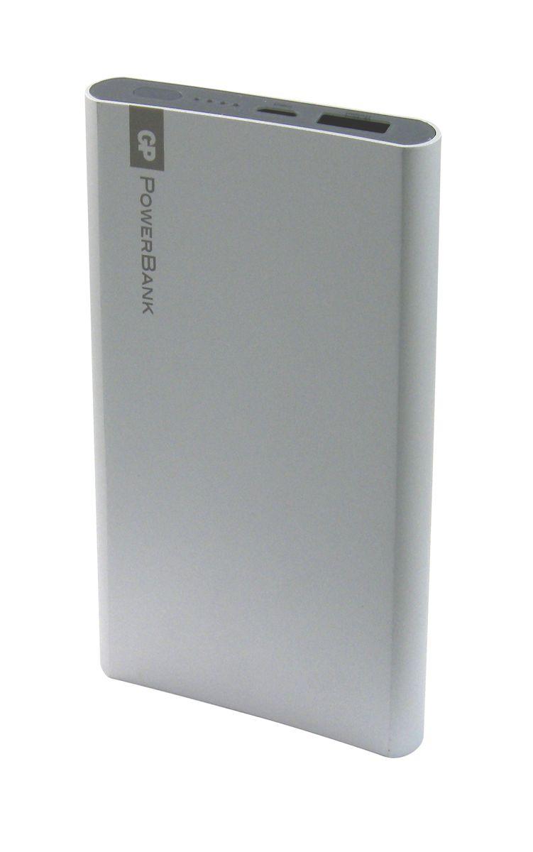 GP GPFP05MSE-2CRB1, Silver внешний аккумулятор (5000 мАч) usb перезаряжаемый высокой яркости ударопрочный фонарик дальнего света конвой sos факел мощный самозащита 18650 батареи