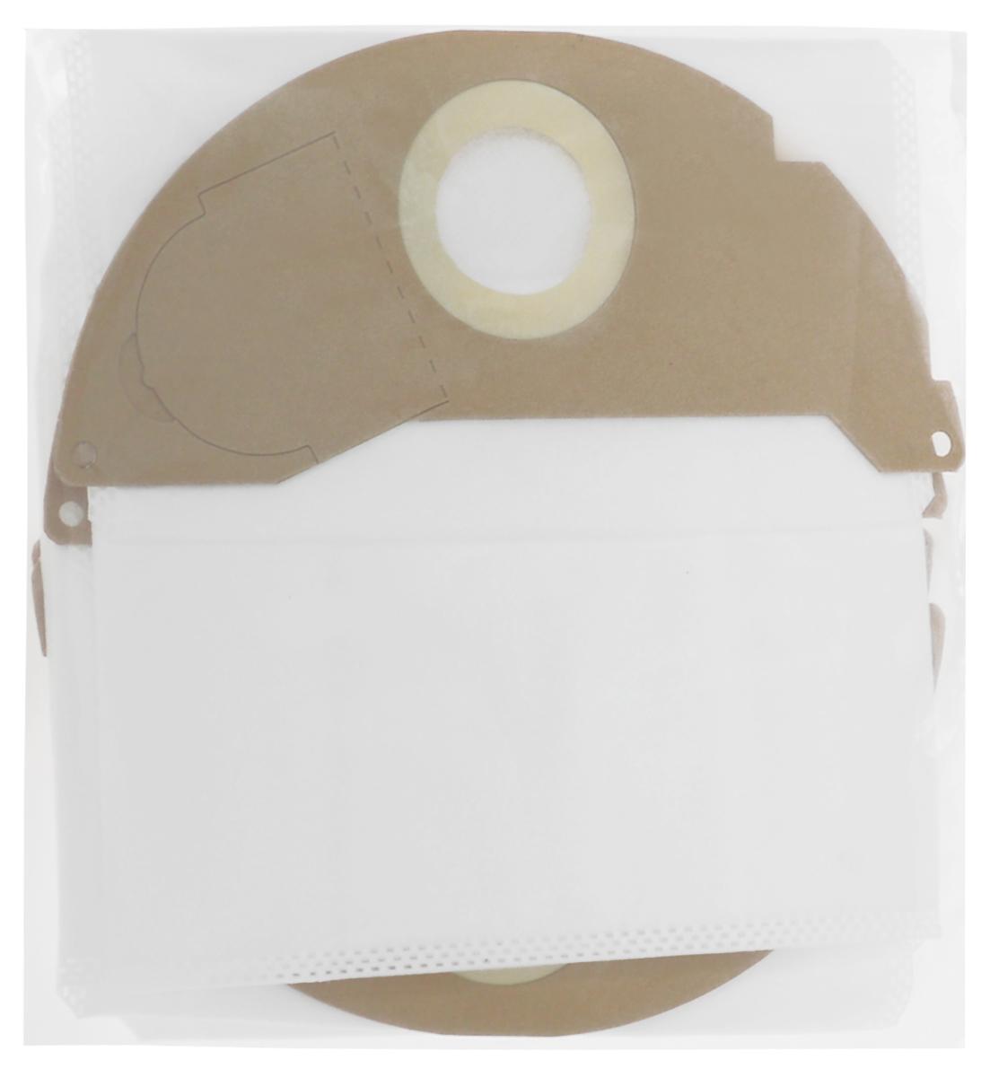 Filtero KAR 05 Pro комплект пылесборников для промышленных пылесосов, 4 шт пылесборник filtero kar 20 2 pro для промышленных пылесосов