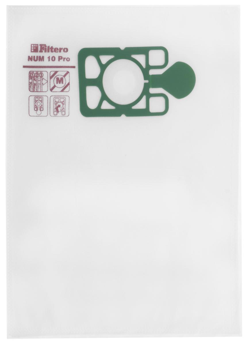 Filtero NUM 10 Pro комплект пылесборников для промышленных пылесосов, 5 шт filtero num 15 2 pro