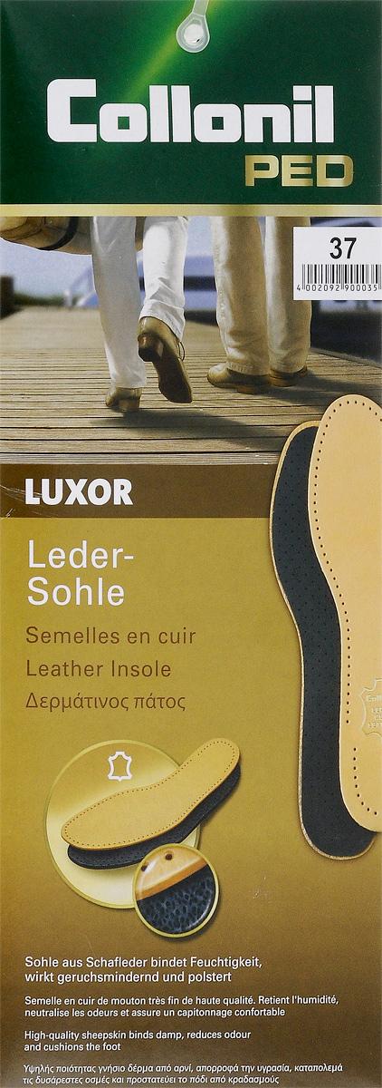Стельки для обуви Collonil Luxor, с латексной основой, 2 шт. Размер 37 collonil стельки с мехом купить