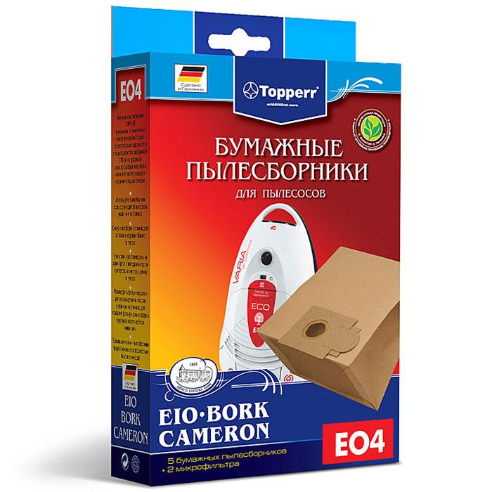 Topperr EO 4 фильтр для пылесосовBork, CameronиEIO, 5 шт корпус exegate ab 224u w o psu black