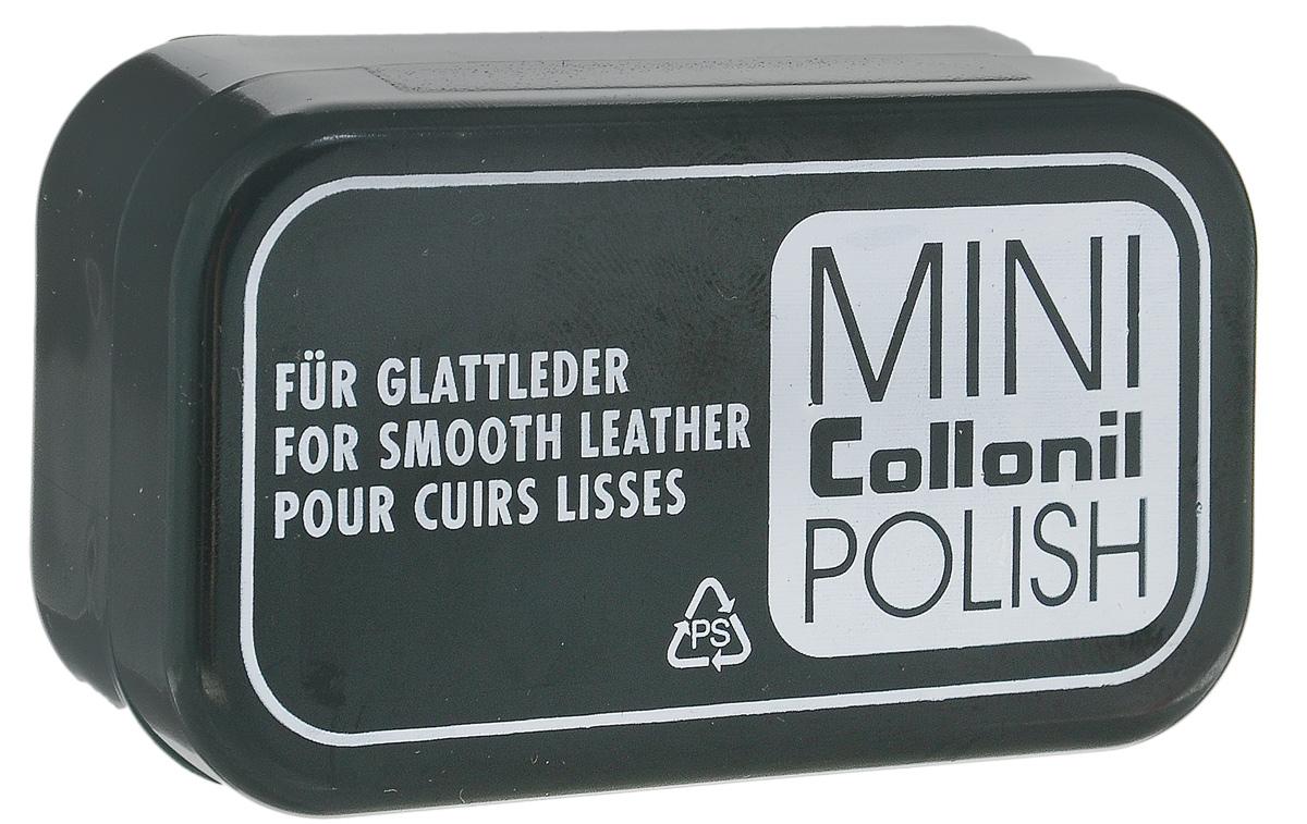 Мини-губка для обуви Collonil Mini Polish, для гладкой кожи, цвет: бесцветный губка для обуви samur экспресс уход цвет бесцветный