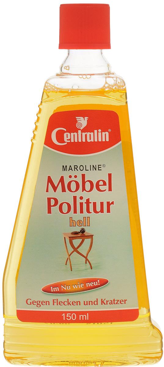 Средство по уходу за деревянной мебелью Centralin, цвет: бесцветный, 150 мл жир для кожаной обуви centralin цвет бесцветный 150 мл уцененный товар 3