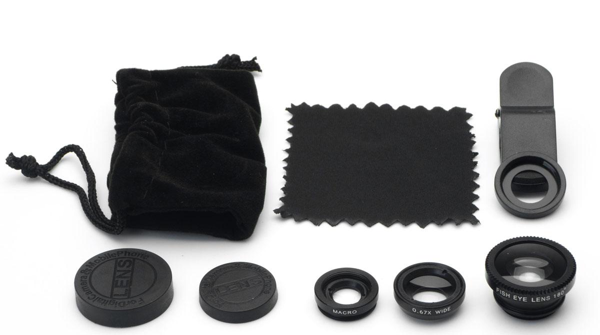 Набор объективов 3 в 1 Harper UCL-003, Black Harper