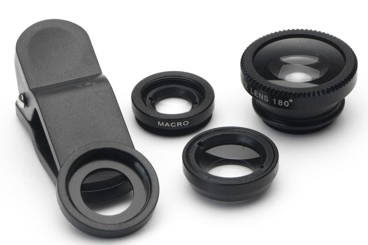 Набор объективов 3 в 1 Harper UCL-003, Black