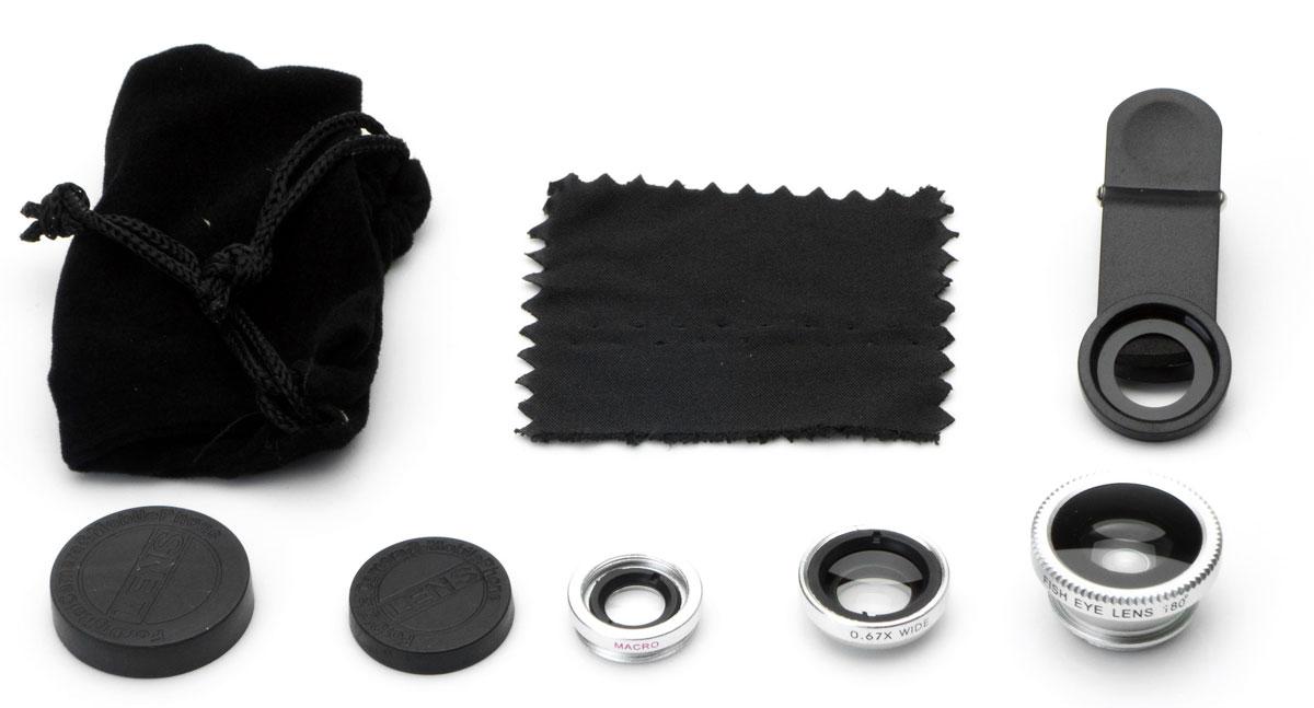 Набор объективов 3 в 1 Harper UCL-003, Silver Harper