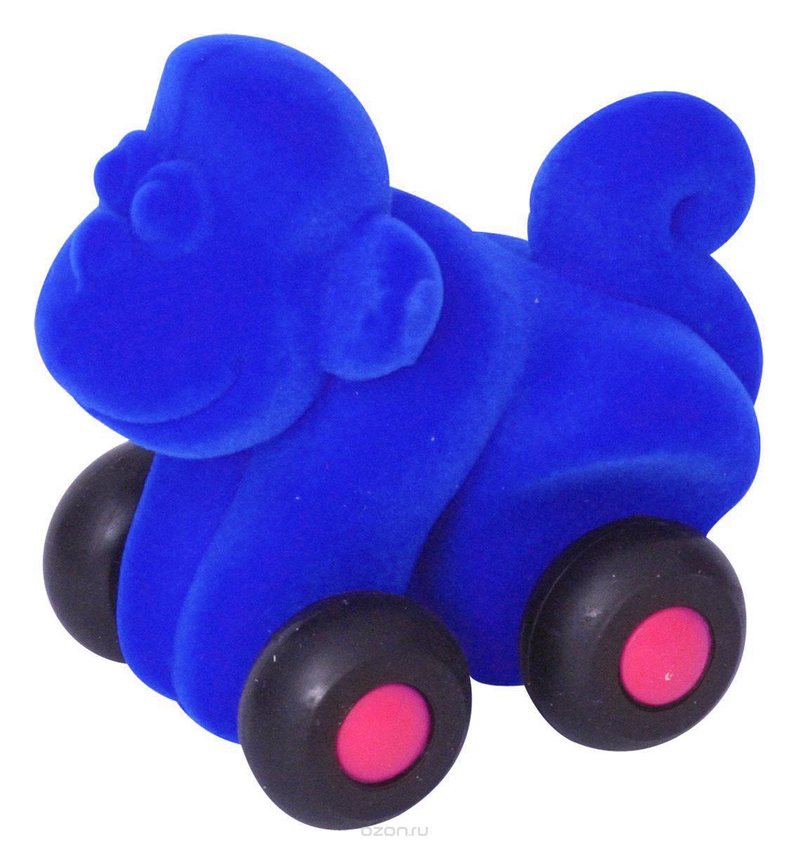 Rubbabu Фигурка функциональная Обезьяна цвет синий rubbabu фигурка функциональная обезьяна цвет синий