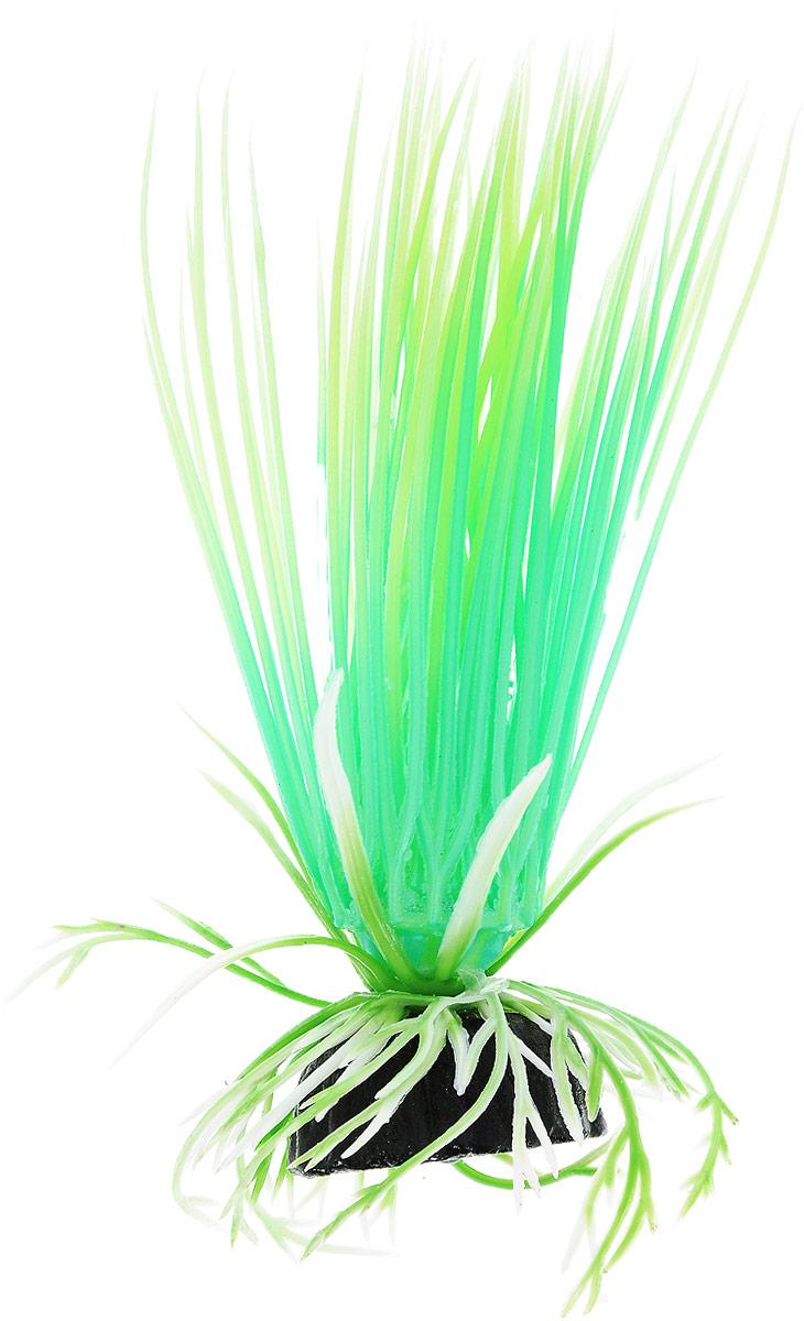 Растение для аквариума Barbus Акорус, пластиковое, светящееся, высота 10 см ландшафтное украшение для аквариума 702