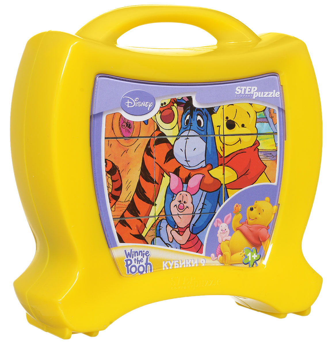 Step Puzzle Кубики Медвежонок Винни в чемоданчике step puzzle кубики вовка в тридевятом царстве