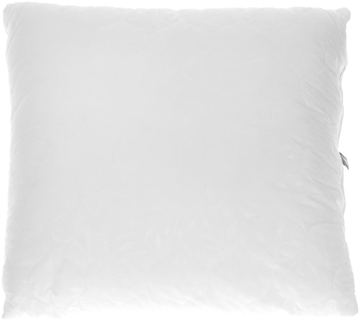 Подушка Sova & Javoronok, наполнитель: эвкалипт, цвет: белый, 70 х 70 см подушки sova and javoronok подушка 70 70 верблюжья шерсть