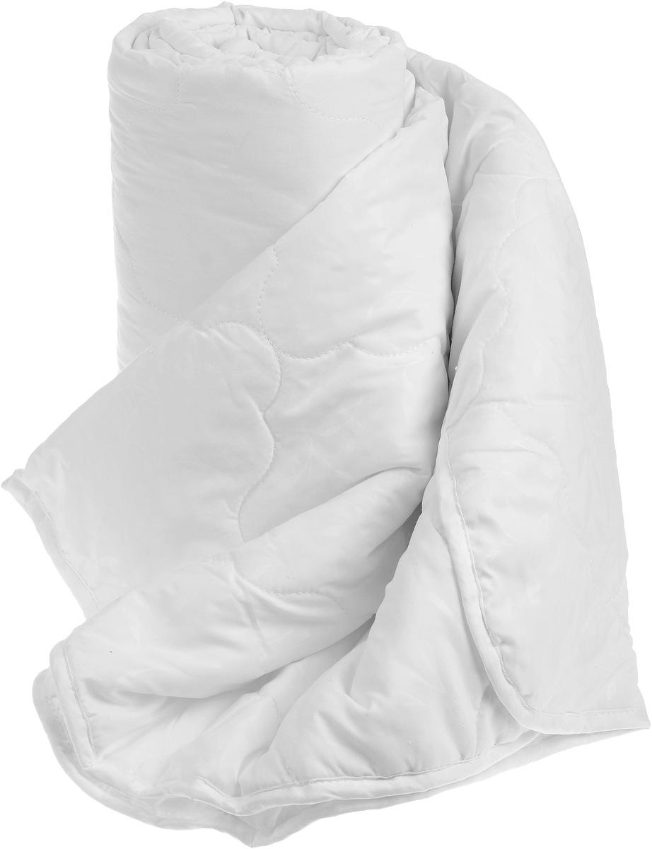 """Одеяло """"Sova & Javoronok"""", облегченное, наполнитель: бамбук, цвет: белый, 172 х 205 см"""