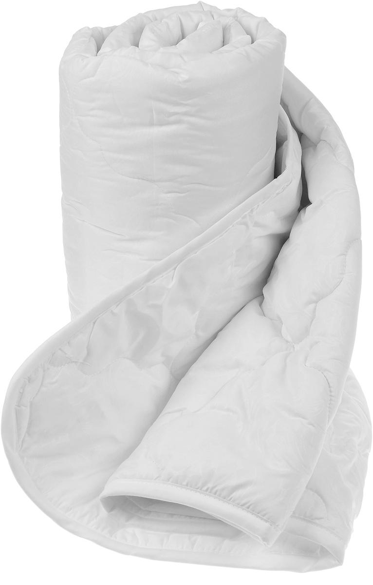 """Одеяло """"Sova & Javoronok"""", облегченное, наполнитель: бамбук, цвет: белый, 140 х 205 см"""