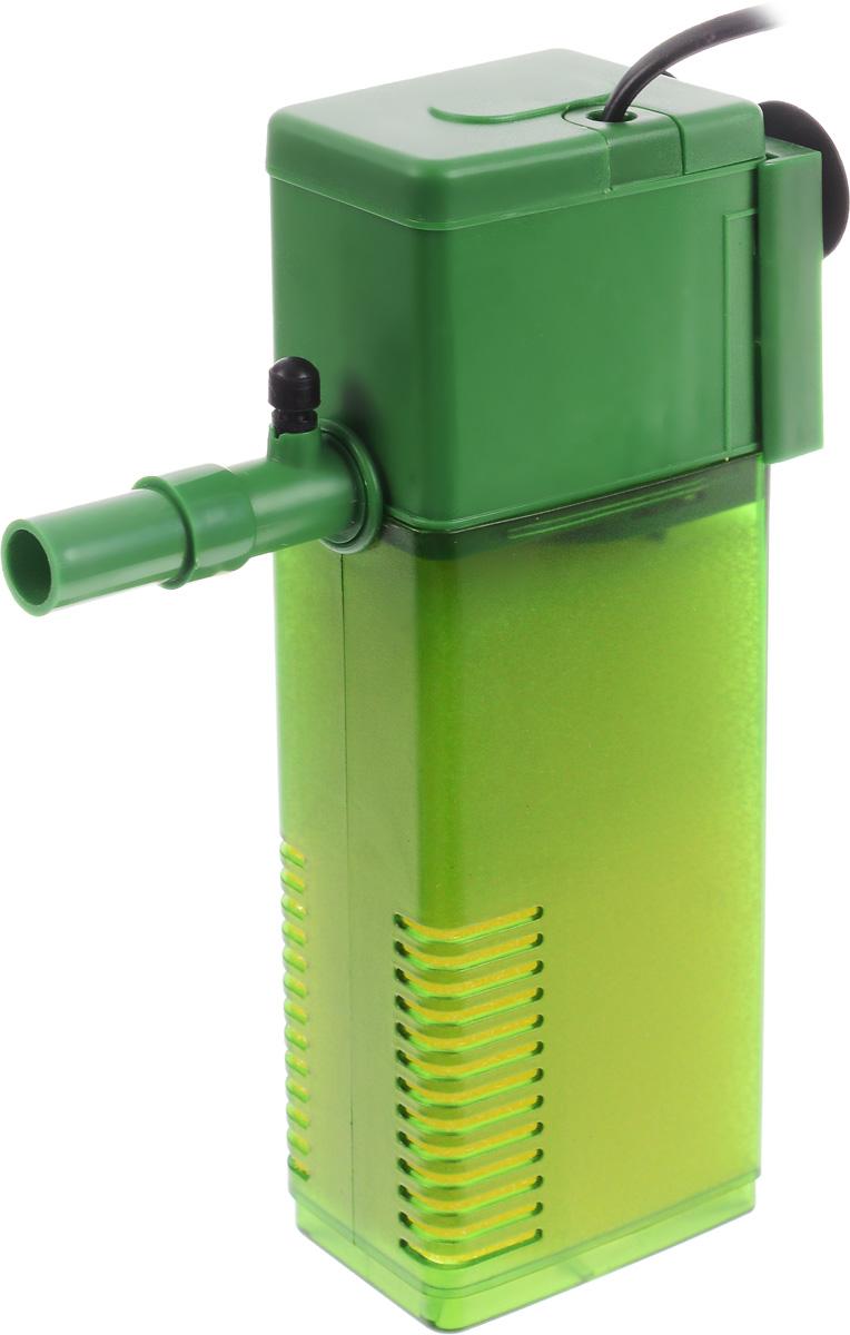 Фильтр для воды Barbus WP- 350F, аквариумный, с регулятором, 1200 л/ч фильтр для аквариума barbus wp 310f внутренний с регулятором и флейтой 200 л ч