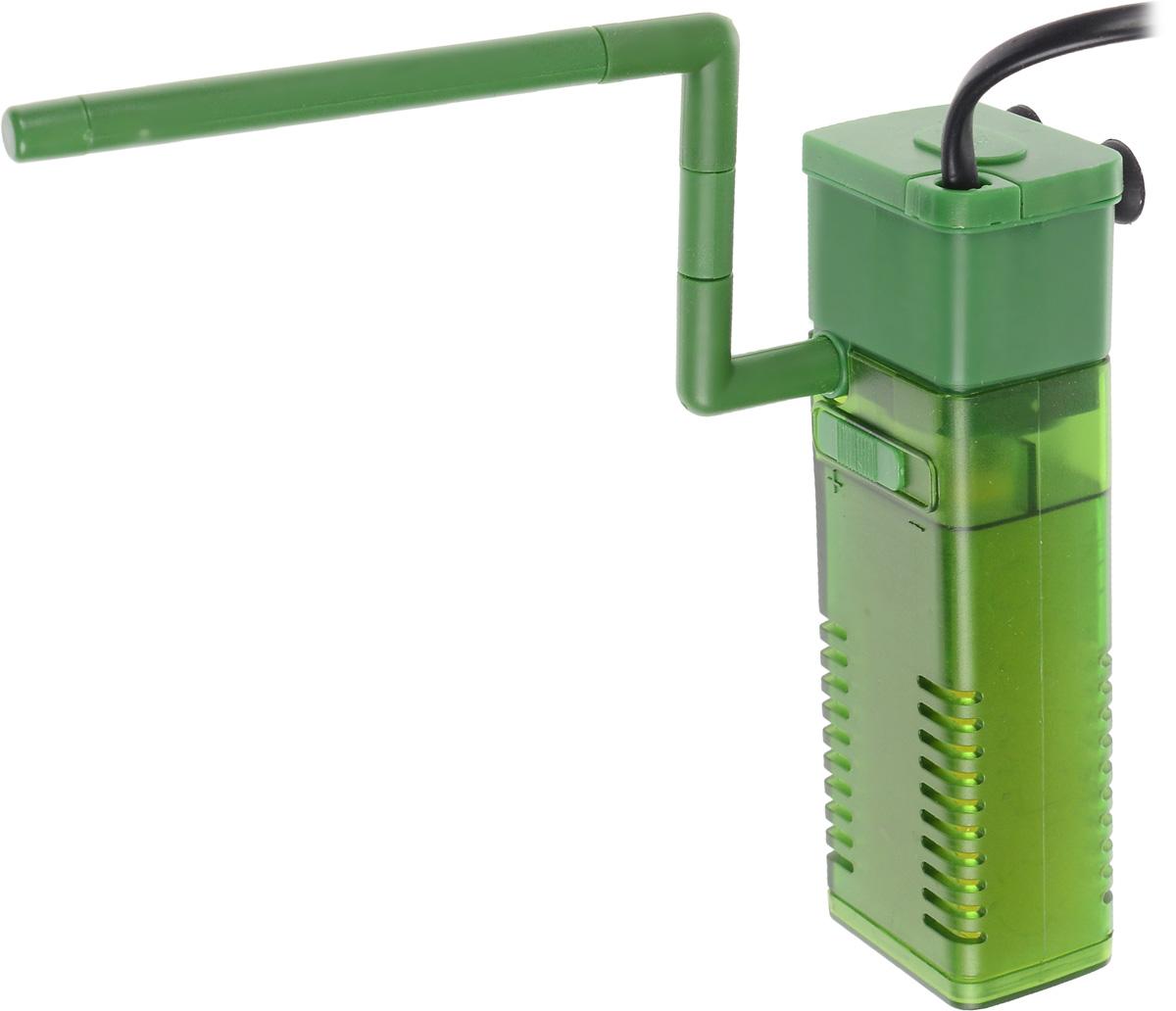Фильтр для воды Barbus WP- 320F, аквариумный, с регулятором и флейтой, 500 л/ч фильтр для аквариума barbus wp 310f внутренний с регулятором и флейтой 200 л ч