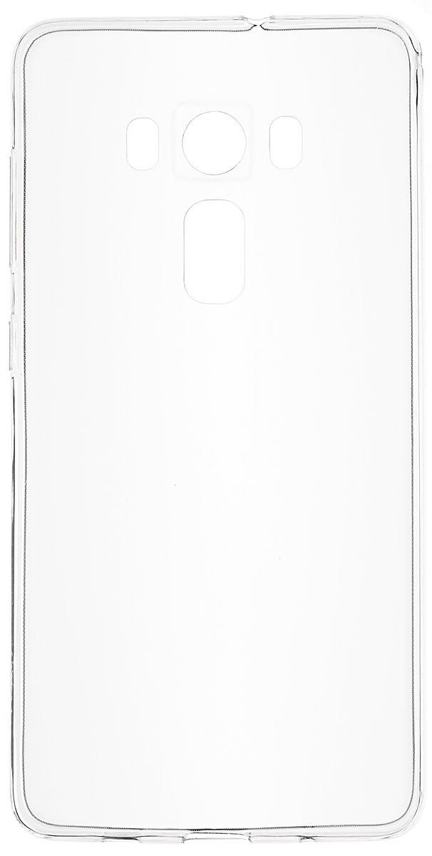 Skinbox Slim Silicone чехол для Asus Zenfone 3 ZS570KL, Transparent аксессуар чехол asus zenfone 3 deluxe zs570kl zs576kl ibox crystal transparent