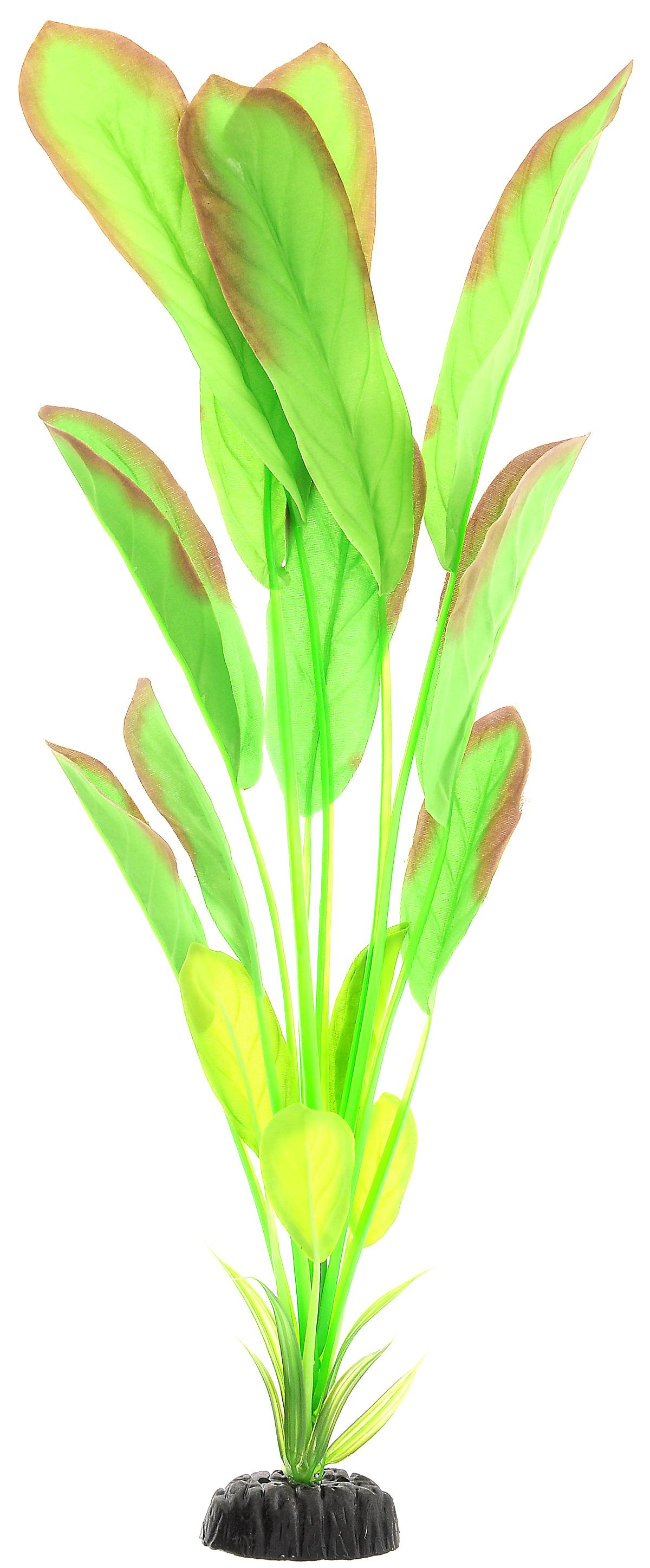 Растение для аквариума Barbus Эхинодорус, шелковое, высота 50 см. Plant 037/50 растение для аквариума barbus лотос шелковое высота 50 см