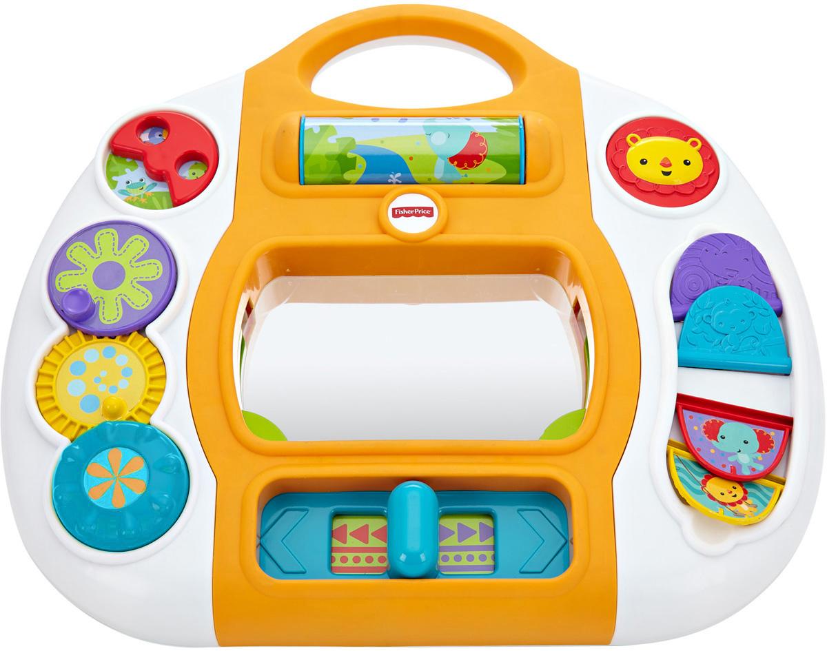 купить Fisher-Price Развивающая игрушка Игровая панель Друзья из тропического леса по цене 1839 рублей