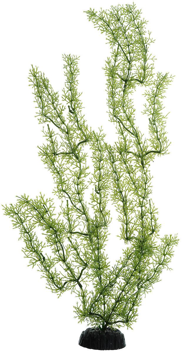 Растение для аквариума Barbus Яванский мох, пластиковое, высота 50 см растение для аквариума barbus роголистник пластиковое цвет зеленый высота 50 см