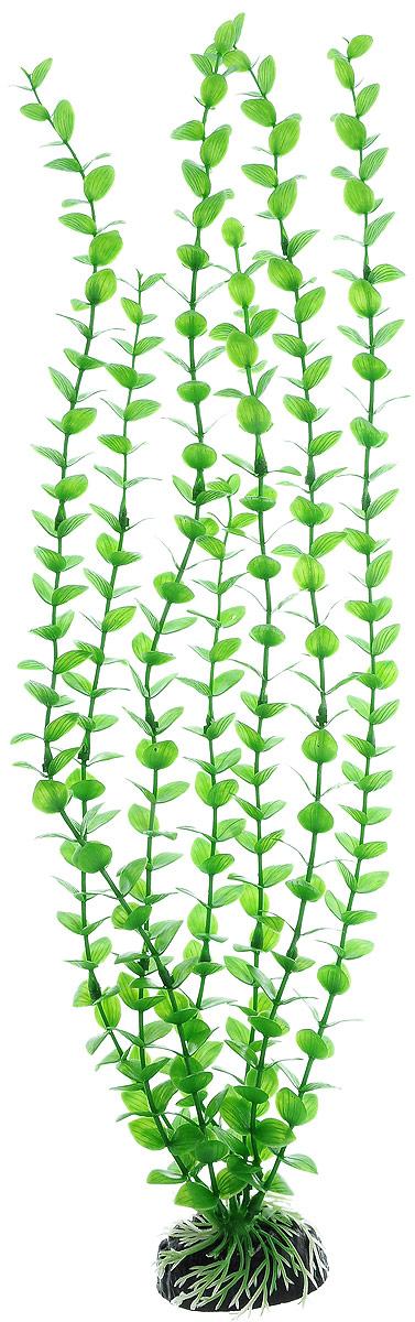 Растение для аквариума Barbus Бакопа зеленая, пластиковое, высота 50 см оборудование для аквариума 50 литров
